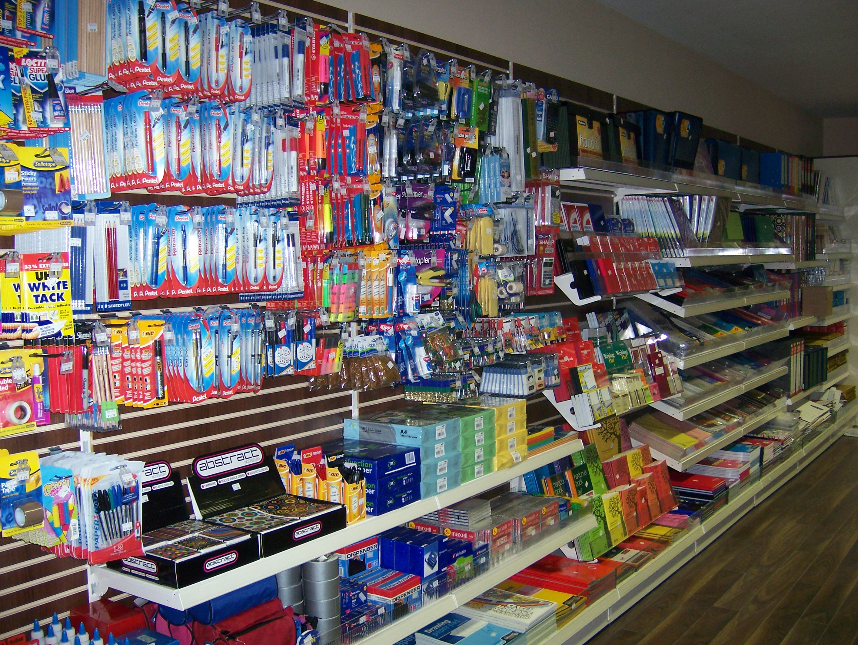 Stationary Shop